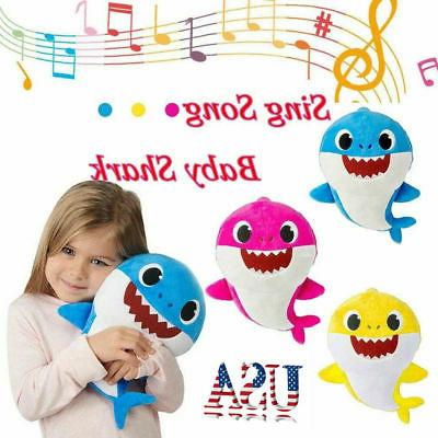 2019 baby shark plush singing plush toys