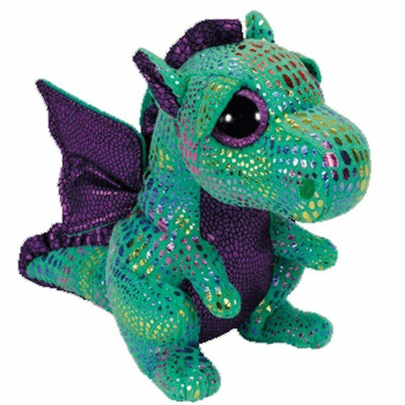 "2019 New The Green Dragon Plush Toy Doll Cute Gift 6"" 15cm F"