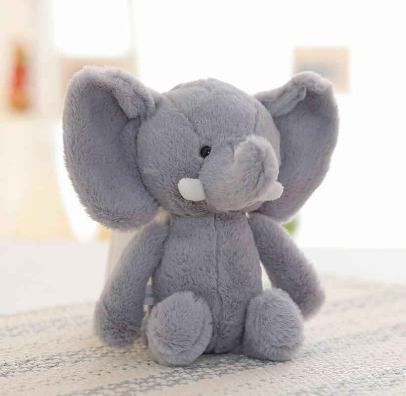 20cm Cute Elephant Toy Animal Baby Kids