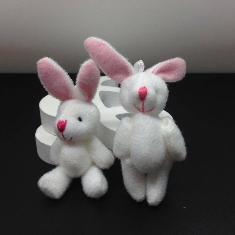 20pcs Bulk Mini Rabbit Bunny Plush Toy