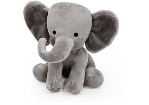 Bedtime Choo Plush Elephant Kids Toy Gray