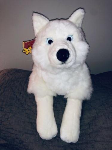24 husky plush htf rare nwt