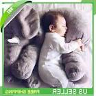 XL/24 Inches Elephant Stuffed Plush Pillow Cushion Plush Toy