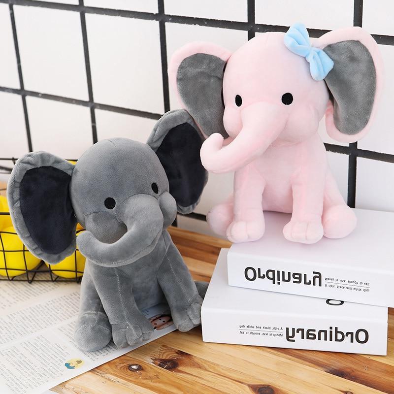 25cm Kids <font><b>Bedtime</b></font> <font><b>Originals</b></font> Choo Elephant Stuffed Doll <font><b>for</b></font> <font><b>Baby</b></font>