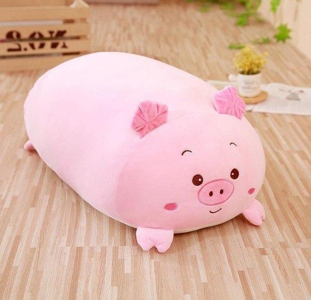 30/60cm Animal Pillow Cushion Cute Dog Pig Stuffed Gift