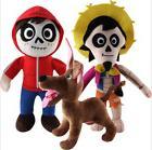 30cm Disney Pixar Coco Hector Miguel Cartoon Soft Plush Toys