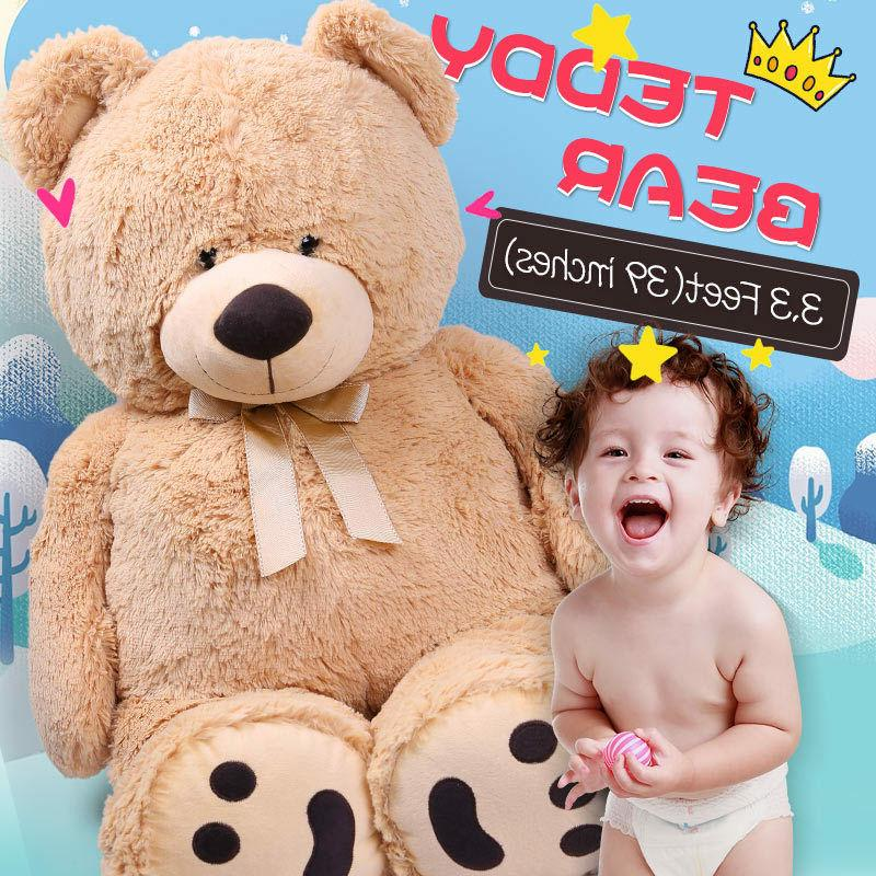 """39"""" Teddy Brown Stuffed Animal Toy Gifts"""
