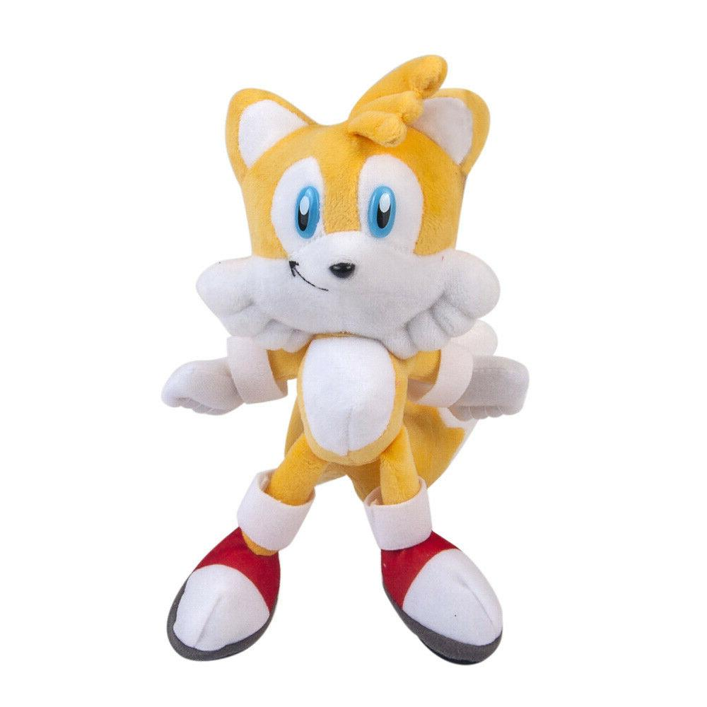 Tails Sonic Plush Doll Stuffed Animal Plushie Figure  Soft T