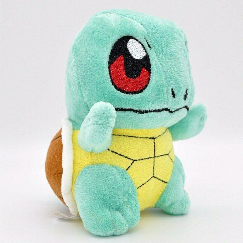 4PCS Toys Pikachu Charmander Soft US Stock