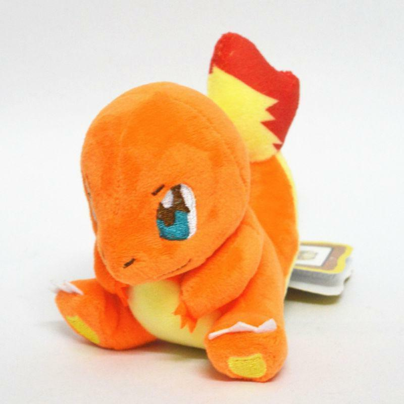 "7"" Pokemon Charmander Plush Soft Toy Stuffed Cuddly Doll Teddy Gift"