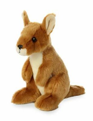 8 Inch Mini Flopsie Kangaroo Plush Stuffed Animal by Aurora