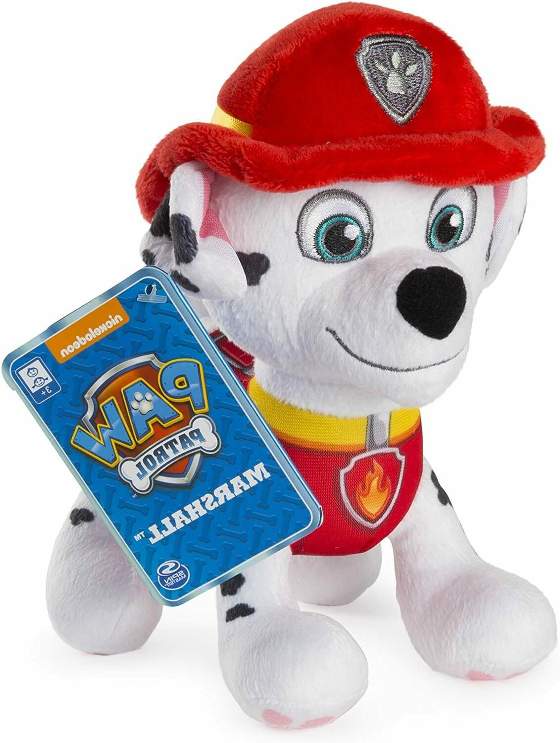 Paw Patrol – Marshall Plush Toy, Plush with Stitched for