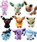 9 Pcs 5.5'' Pokemon Plush Toy Doll Eevee  New Pokemon Evolut