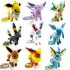 9pcs/Lot Pokemon plush toys Stand Eevee Sylveon Eeveelution