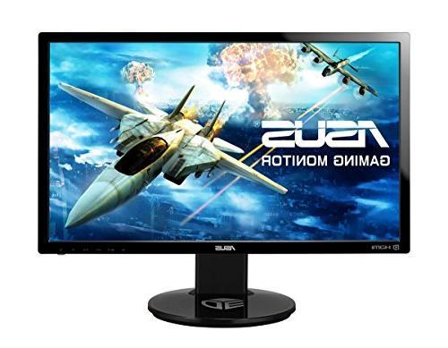 """ASUS VG248QE 24"""" Full HD 1920x1080 144Hz 1ms HDMI Gaming Mon"""