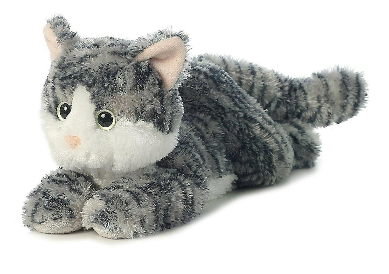 Aurora World Flopsie Cat/Lily Plush
