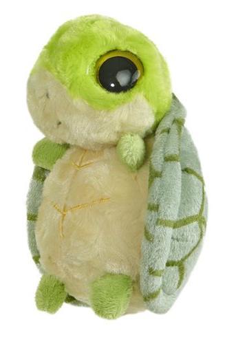 """Aurora World YooHoo Shelbee Tortoise 5"""" Plush"""