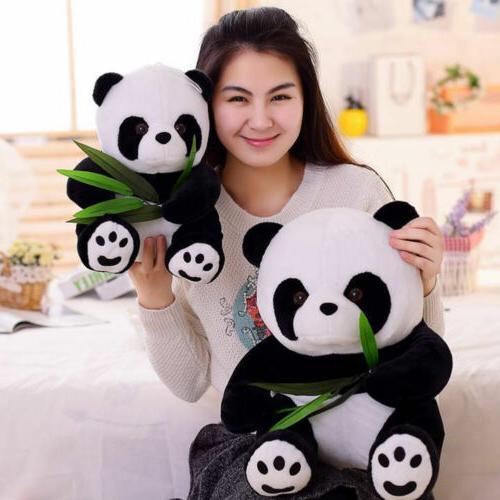 Cute 16cm Animal Plush Soft Toys PANDA Bear Stuffed Doll Sta