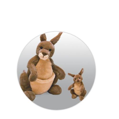 GUND Jirra Stuffed Animal 10""