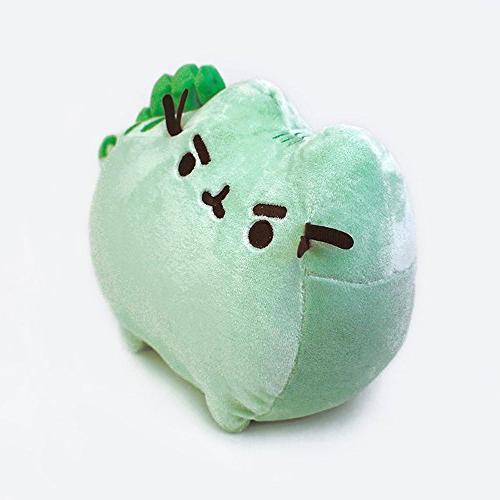 GUND Pusheenosaurus Stuffed Animal Cat Green,