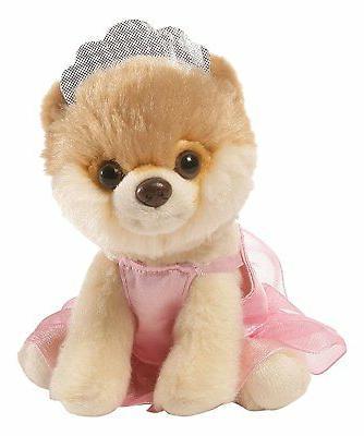 Gund Itty Bitty Boo Ballerina Stuffed Dog Plush