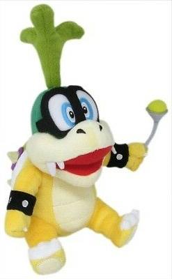 "Little Buddy Super Mario Series Iggy Koopa 8"" Plush"