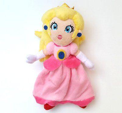 "New Nintendo Super Mario Bros. Princess Doll Stuffed Toy 8"""