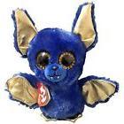 Ozzy Ty Beanie Boos Buddy 8 inch - Blue Halloween Bat - MWMT