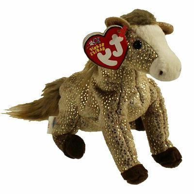TY Beanie Baby - FILLY the Horse  - MWMTs Stuffed Animal Toy