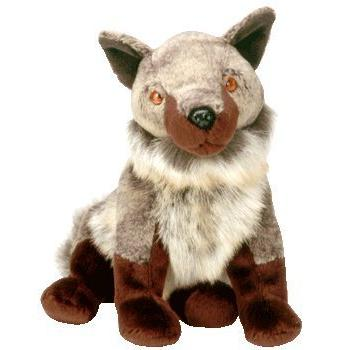 Ty Beanie Babies Howl the Wolf Coyote Dog