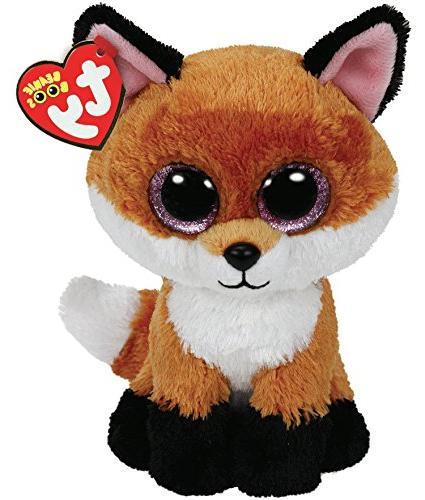 Ty Beanie Boos 6-Inch Slick Brown Fox Plush