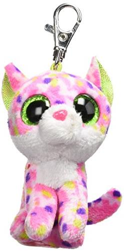 Ty Carletto 36634sophie Cat Clip With Glitter Eyes, Glubsc