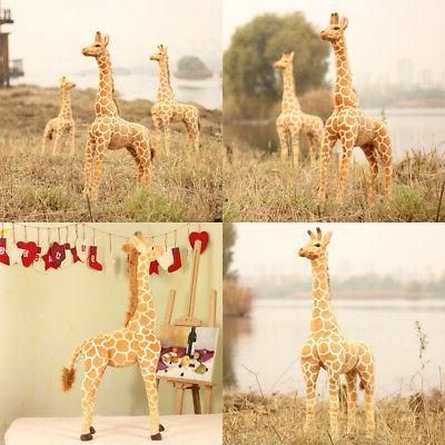 US Big Giraffe Toy Doll Large Stuffed Animal Doll Gift