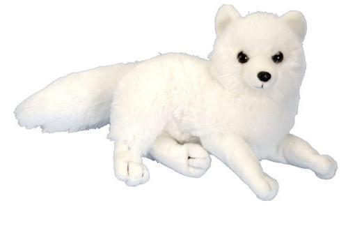 Wild Republic Arctic Fox Plush, Stuffed Animal, Plush Toy, G