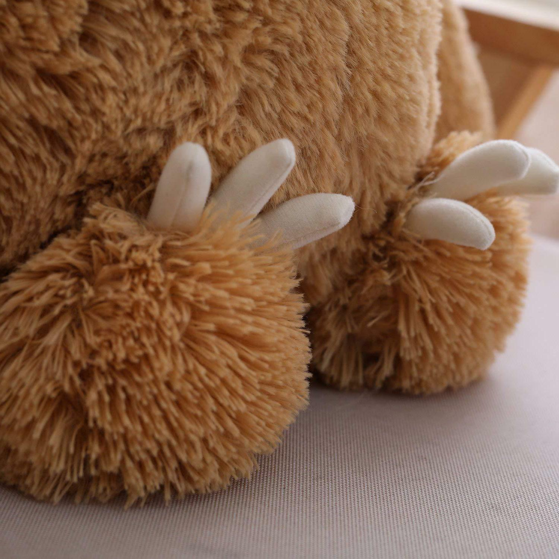 Winsterch Stuffed Sloth Bear Plush Gift Baby 15.7''