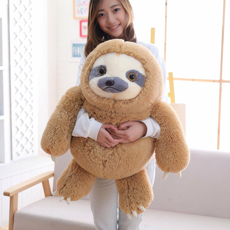 Winsterch Sloth Stuffed Animal Toy Kids Plush Sloth Gift 27.