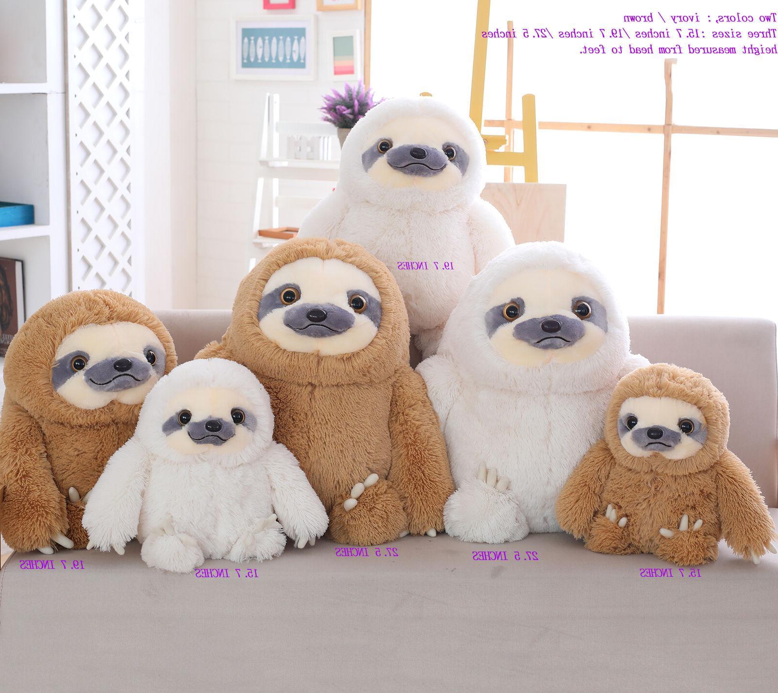 Winsterch Sloth Plush Kids