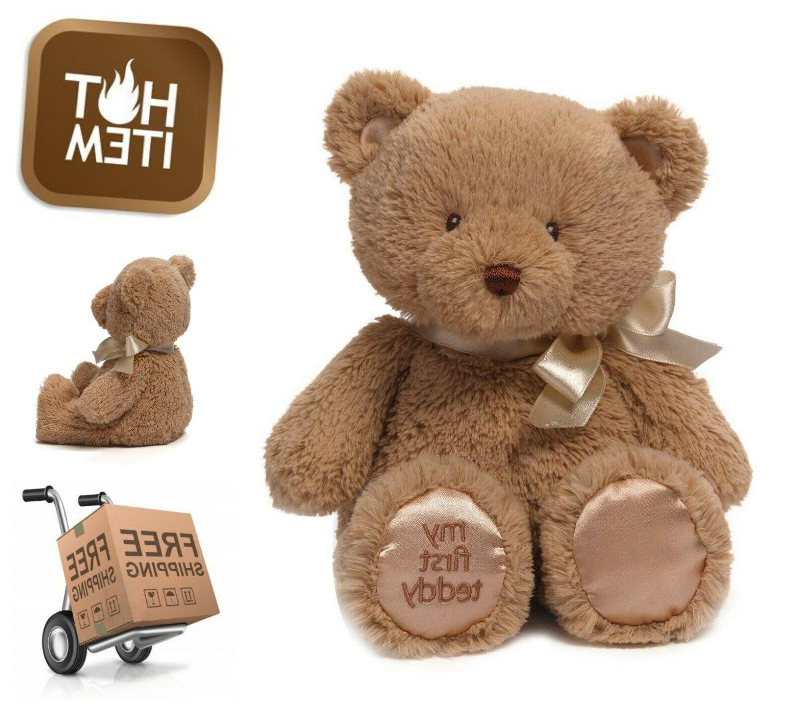 Teddy Bear 10 Inch Plush Cuddly Stuffed Animal All Age Kids