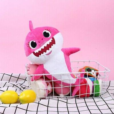 Animal Cartoon Pinkfong Baby Shark Sharks Kids Plush Playing Toy Gift