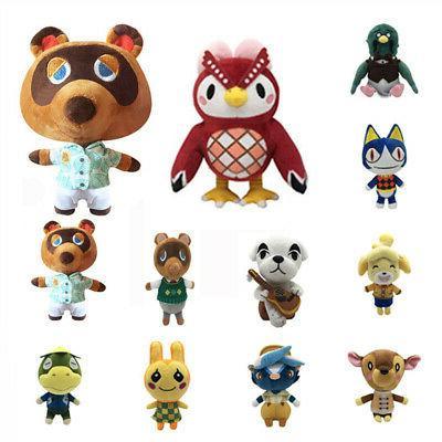 Animal Crossing KK Plush Raccoon Soft Doll Kid Gift