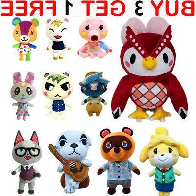 animal crossing tom nook kk plush toy