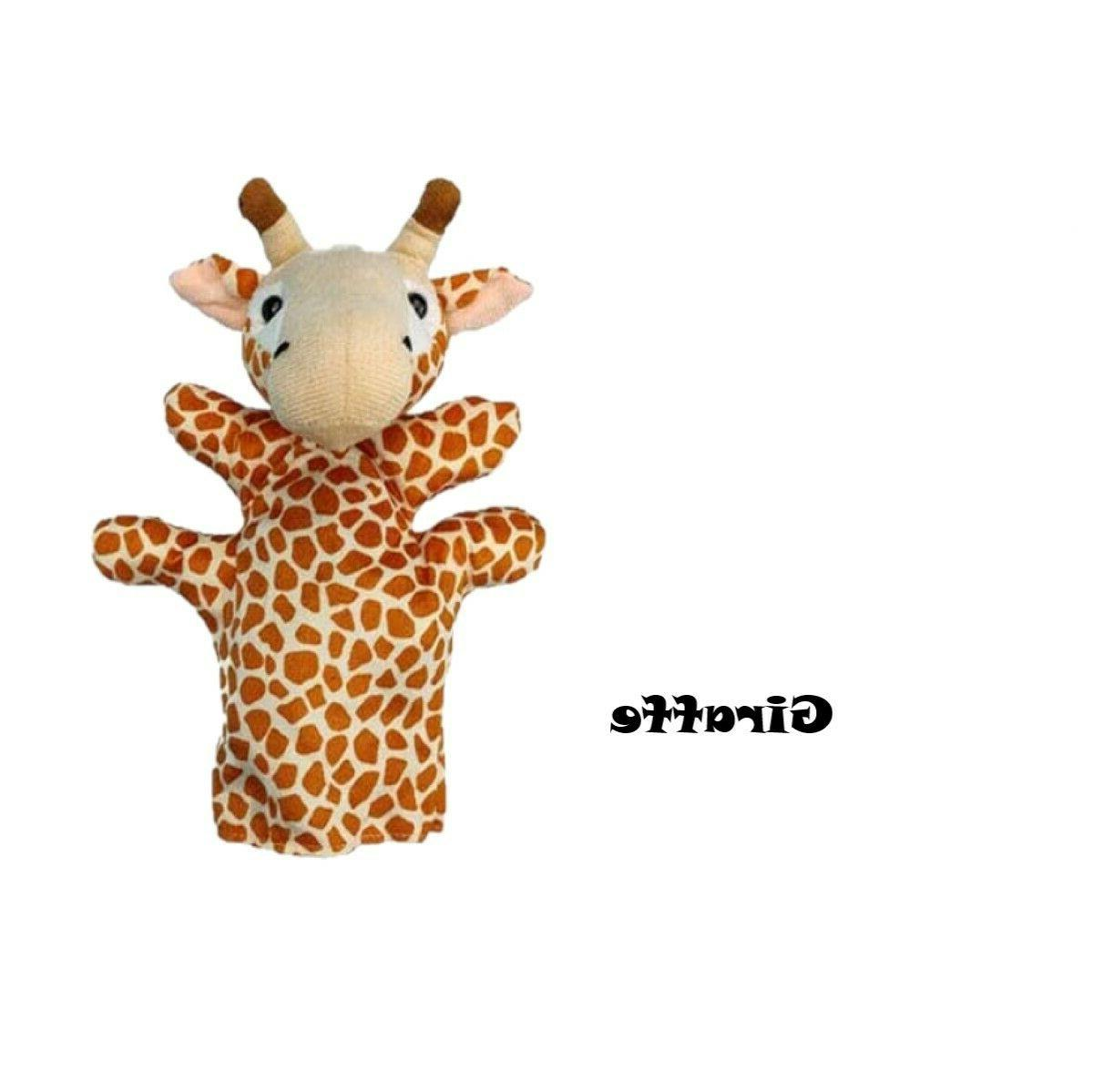 "Animal Puppets Plush Interaction Toy 9.2"" Choice 6"
