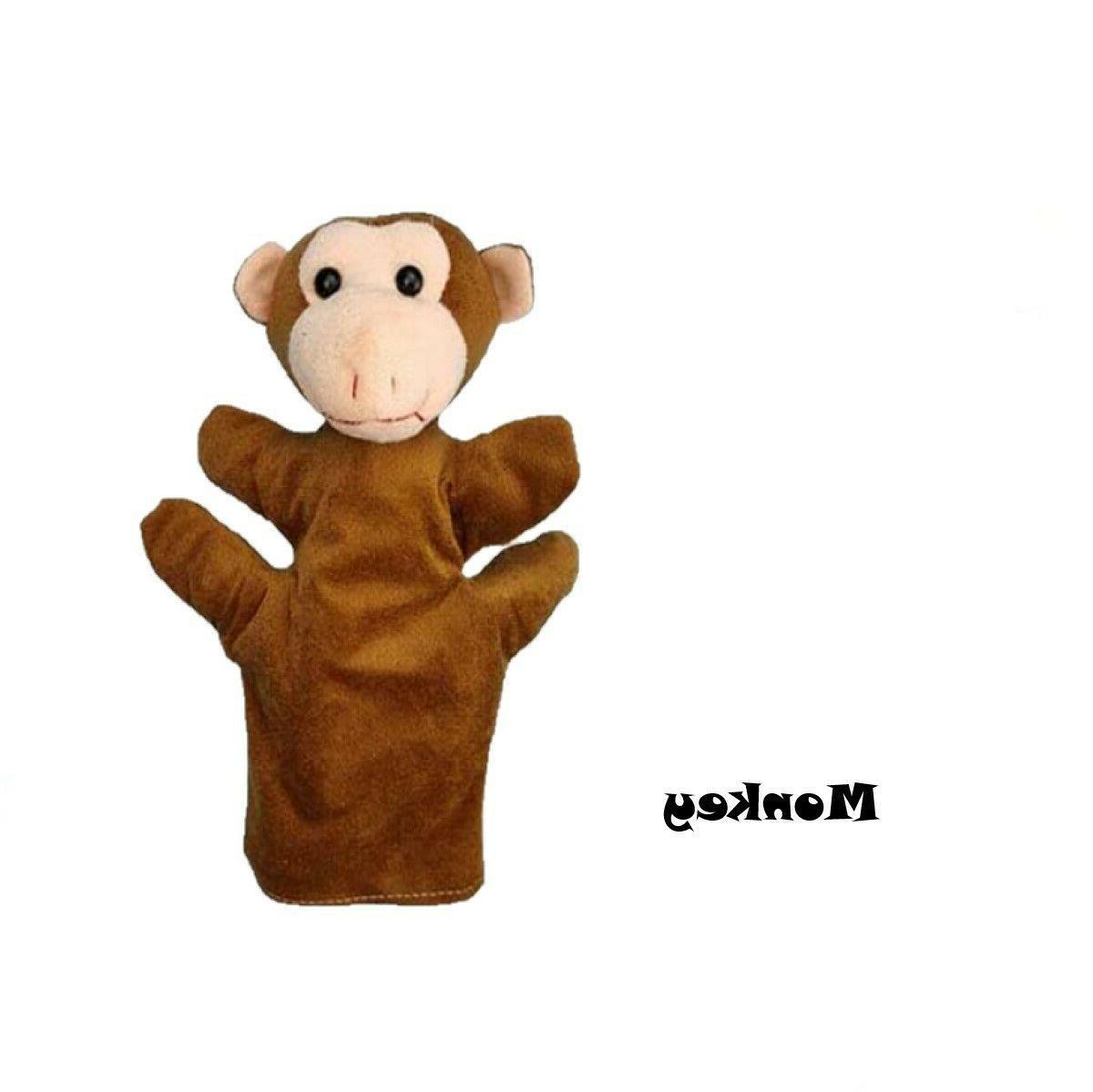 "Animal Puppets Plush 9.2"" 6"