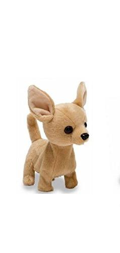 Cuddle Barn Animated Plush Toy Dog Lola The Chihuahua Barks
