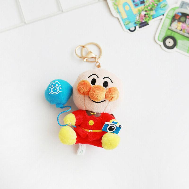 Anpanman stuffed plush chain doll