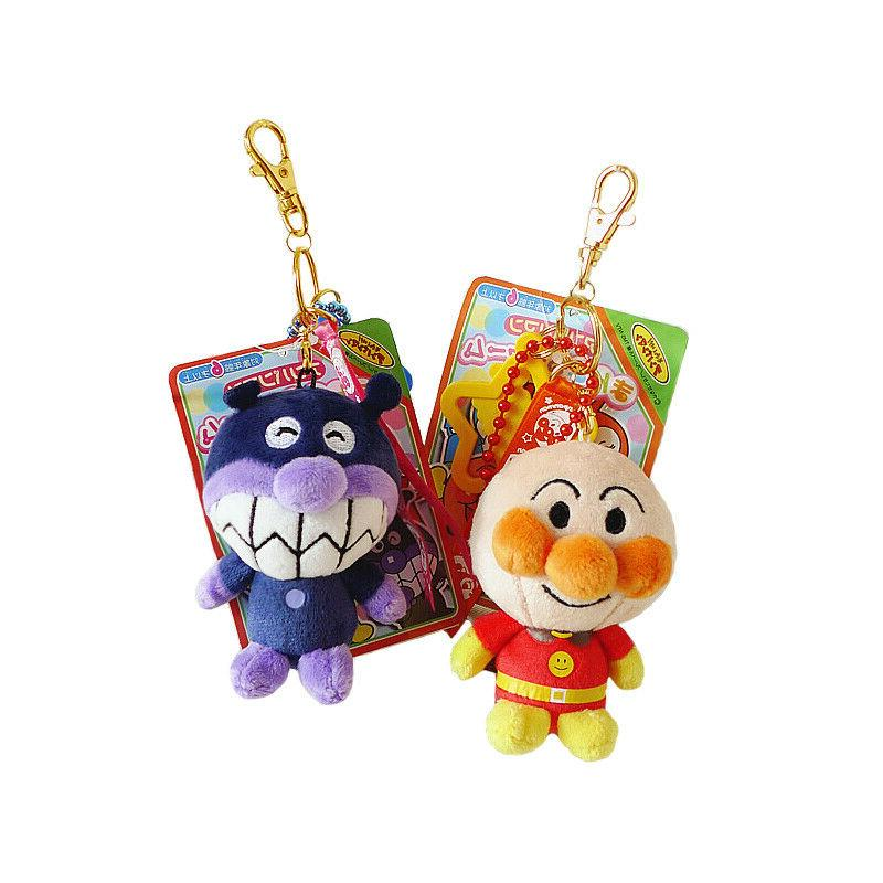 Anpanman raincoat stuffed plush ornament chain