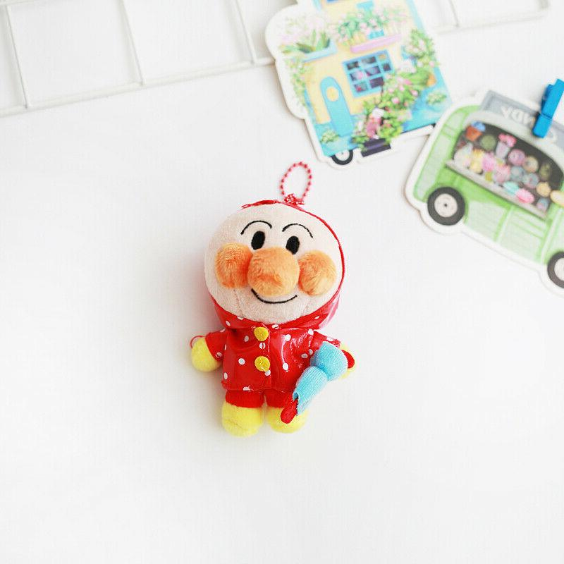 Anpanman raincoat stuffed plush key chain