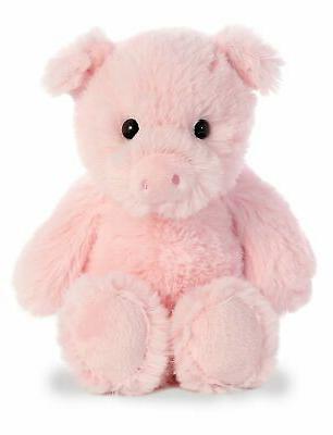 aurora pig plush pink