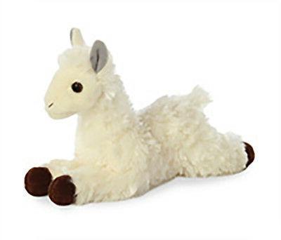 "Aurora World Mini Flopsie Toy Llama Plush, 8"""