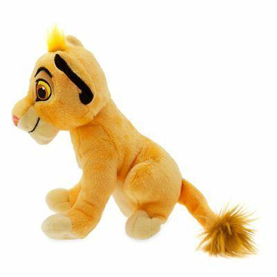 "Disney Authentic Simba Toy Doll 7"" H Stuffed Animal"